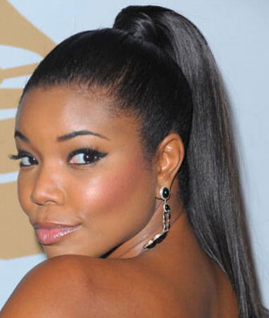 celebrity-sleek-ponytail-hairstyle