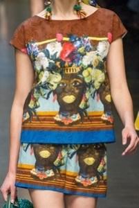D&G Black Face Dress 2