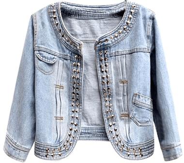Miss INY Denim Jacket