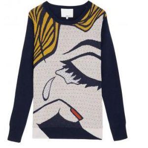 The Break Up Pullover Sweater, $480, 3.1 Phillip Lim