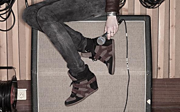 Ash Bea Sneaker Wedge