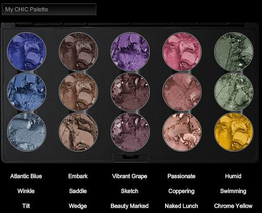M.A.C Custom Palette