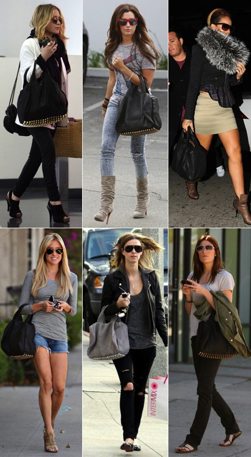 Celebs with their Wang Rocco Bag