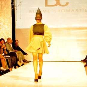 Bishme Cromartie runway model