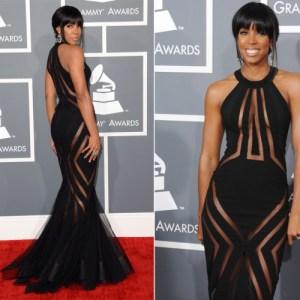 Kelly Rowland 2013 Grammys