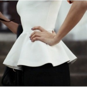 Spring and Summer Peplum