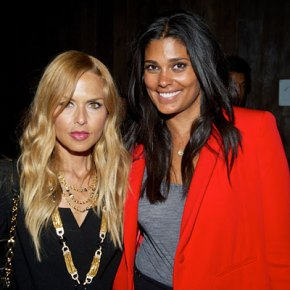 Rachel Zoe and Rachel Roy at an afterparty