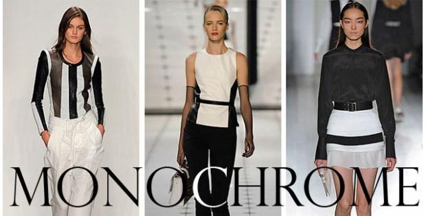 Monochrome trend