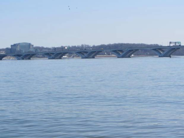 View of Maryland from Old Town Alexandria