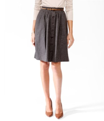 http://www.uberchicforcheap.com/2012/11/spied-essential-buttoned-line-skirt.html