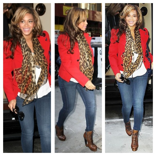 beyonce-red-blazer-and-jeans