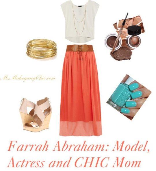 Polyvore Set: Farrah Abraham