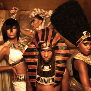 Egyptian hair theme