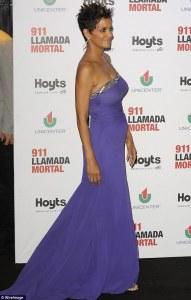 Halle Berry purple
