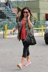 Jenna Dewan gym outfit
