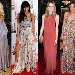 Celebrity Maxi Dress Style