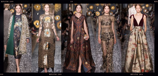 Valentino Fall Couture 2013 Collage