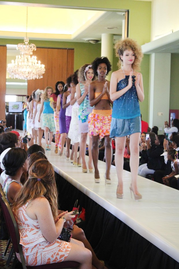 Haneefa M Finale Spr14 Fashion Show