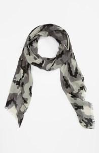 nordstrom camo scarf