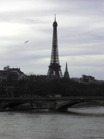 Eiffel Tower from Pont Alexandre III 2