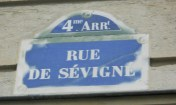 Rue de Sevigne