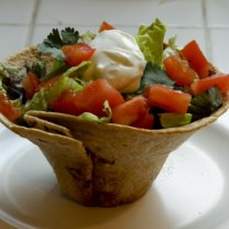 Mini Healthy Taco Salads