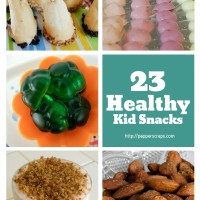 23 Healthy Kid Snacks