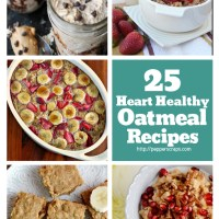 25 Oatmeal Recipes for Heart Healthy Breakfasts and More!