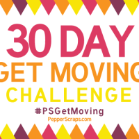 30 Day Get Moving Challenge #PSGetMoving