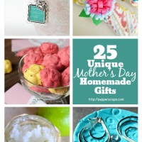 25 Unique Mother's Day Homemade Gifts