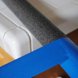 Step 9: Wrap lightsaber 2/3 of the way with colored duct tape