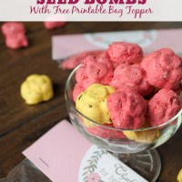 Flower Seed Bombs with Free Printable