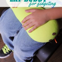 How to Make a Lap Buddy to Help Fidgeting