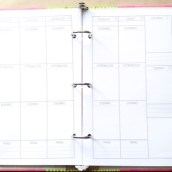 Step 11: Place your pages into your binder!