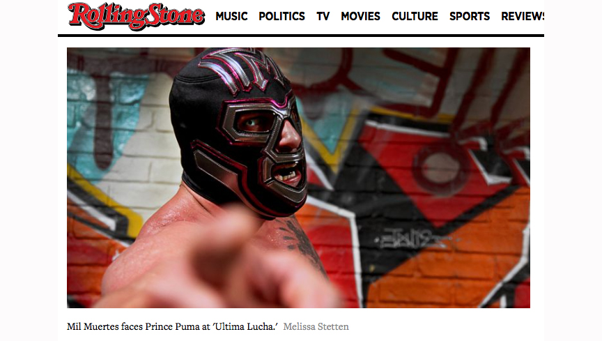 Rolling Stone – Lucha Underground Wrestling