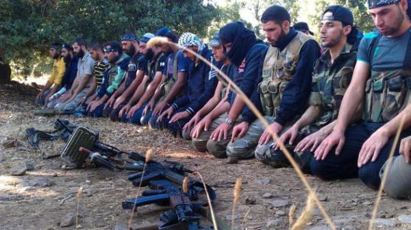 borci u shamu - sirija