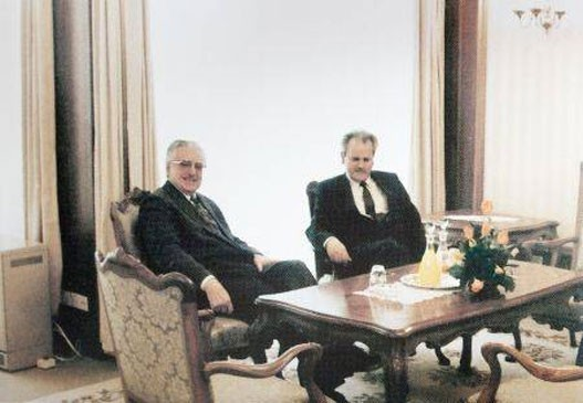 Tudjman i Milosevic