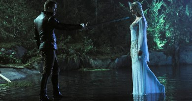 That ain't no Lady of the Lake... (ABC/CHRIS HELCERMANAS-BENGE)