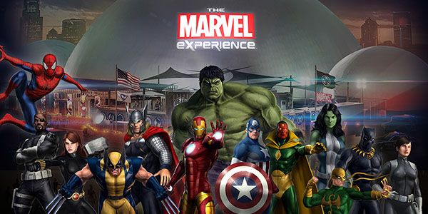 The Marvel Experience Header