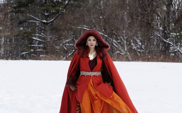 "THE EXPANSE -- ""Windmills"" Episode 107 -- Pictured: Shohreh Aghdashloo as Chrisjen Avasarala -- (Photo by: Rafy/Syfy)"