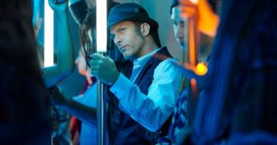 "THE EXPANSE -- ""Retrofit"" Episode 106 -- Pictured: Thomas Jane as Detective Josephus Miller -- (Photo by: Steve Wilkie/Syfy)"