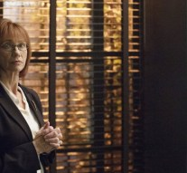 "COLONY -- ""Brave New World"" Episode 102 -- Pictured: Kathy Baker as Phyllis -- (Photo by: Jack Zeman/USA Network)"