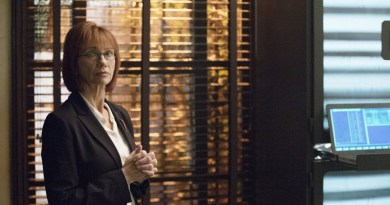 """COLONY -- """"Brave New World"""" Episode 102 -- Pictured: Kathy Baker as Phyllis -- (Photo by: Jack Zeman/USA Network)"""