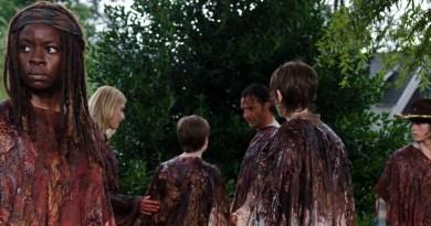 Danai Gurira as Michonne - The Walking Dead _ Season 6, Episode 9 - Photo Credit: Gene Page/AMC