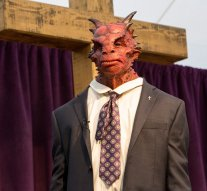 "GRIMM -- ""The Believer"" Episode 516 -- Pictured: Brady Romberg as Dwight stunt creature -- (Photo by: Scott Green/NBC)"