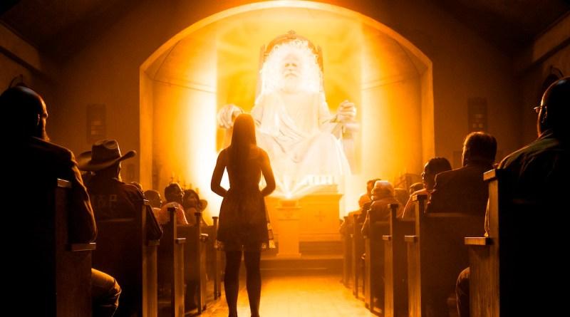 Parishioners- Preacher _ Season 1, Episode 9 - Photo Credit: Lewis Jacobs/Sony Pictures Television/AMC