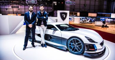Rimac Means Competition for the Electric Vehicle Industry