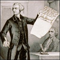 John Hancock and the Declaration of Independence