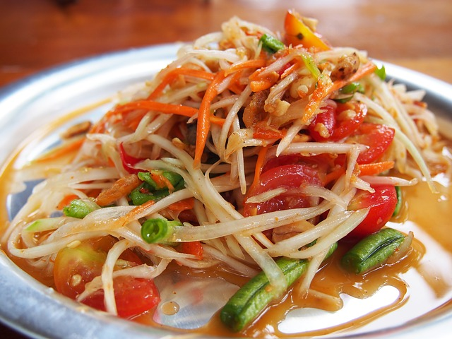 Papaya Salad Cambodia