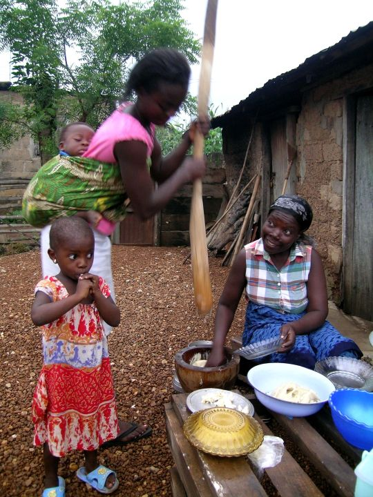FuFu, Ghana, West Africa